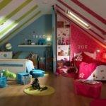 Разделение пространства комнаты цветом