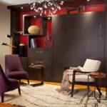 Мебельный гарнитур с откидной кроватью