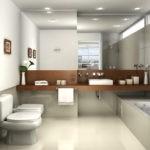 Декорировании ванной комнаты картинами