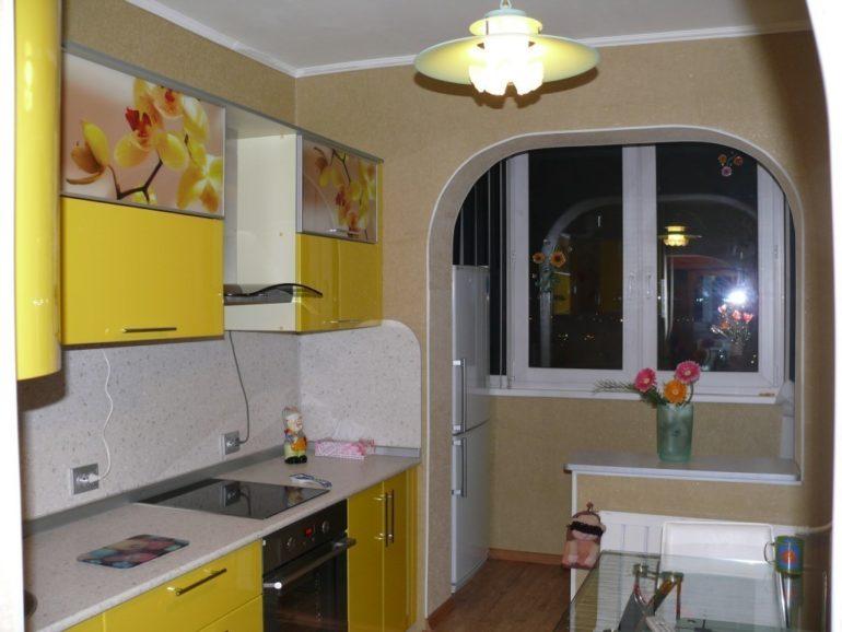 Холодильник на балконе после совмещения с кухней