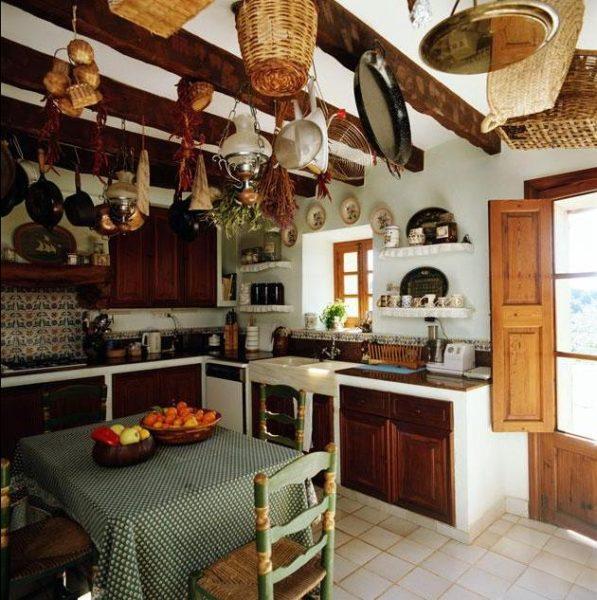 Интерьеры кухонь в стиле кантри