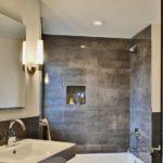 Керамогранит для облицовки стен в ванной комнате