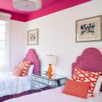 Розовый цвет в дизайне детской