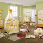 Пол из качественного ламината в детской комнате