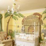 Стиль сафари в оформлении детской комнаты