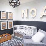 Строгий стиль оформления детской комнаты