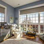 Детская комната с панорамными окнами