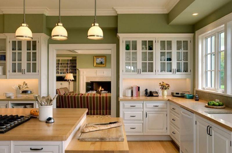 Кухонный гарнитур в стиле классики