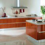 Дизайн проект кухни без верхних шкафов