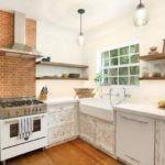 Состаренные фасады кухонного гарнитура
