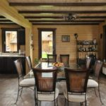 Кухня-гостиная в одном стилевом оформлении