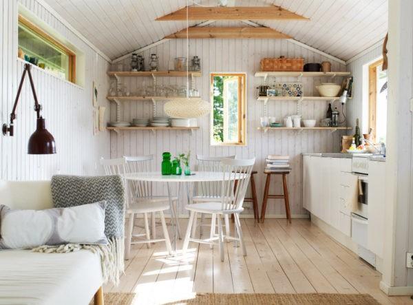 Маленькая кухня — студия
