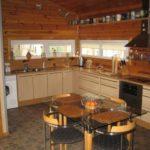 Кухня своими руками для деревянного дома