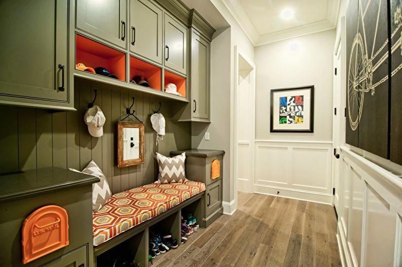 Удобные шкафы для хранения вещей и одежды в прихожей