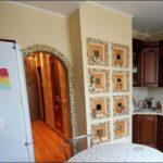 Мозаика делает конструкцию главным украшением помещения