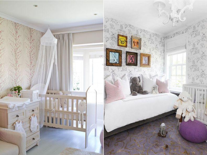 Оформление комнаты для младенца в нейтральных оттенках