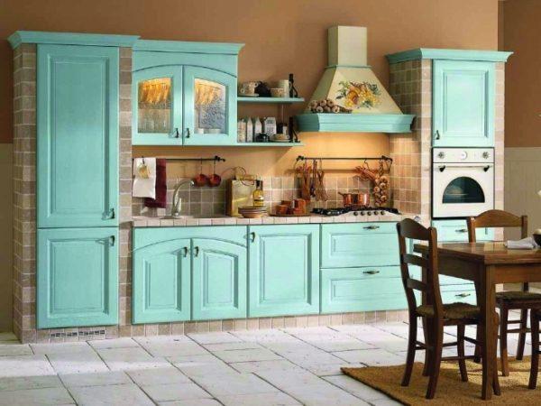 Оттенки зеленого для мебели