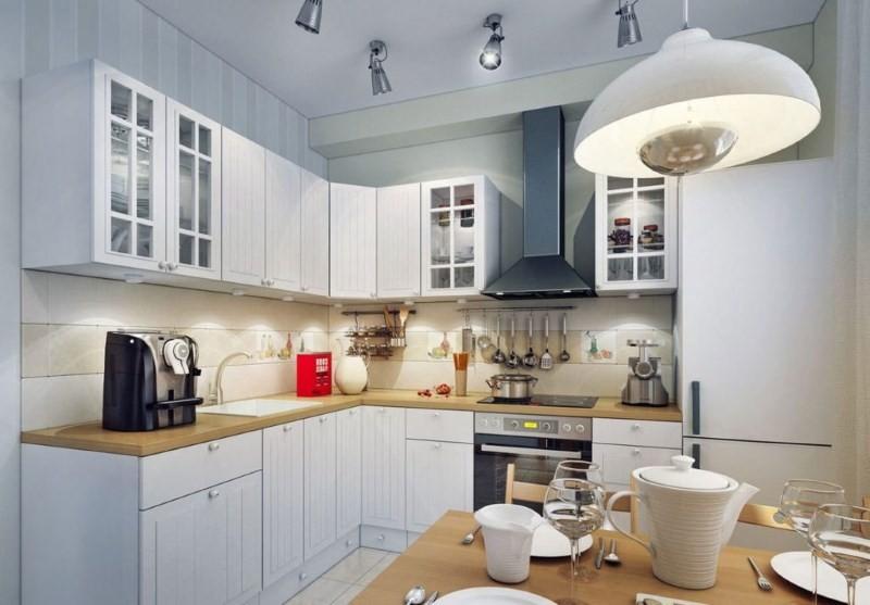 Организация искусственного освещения кухонного пространства