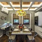 Дизайн-проект кухни в деревенском стиле