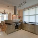 Рабочая зона в кухне-столовой