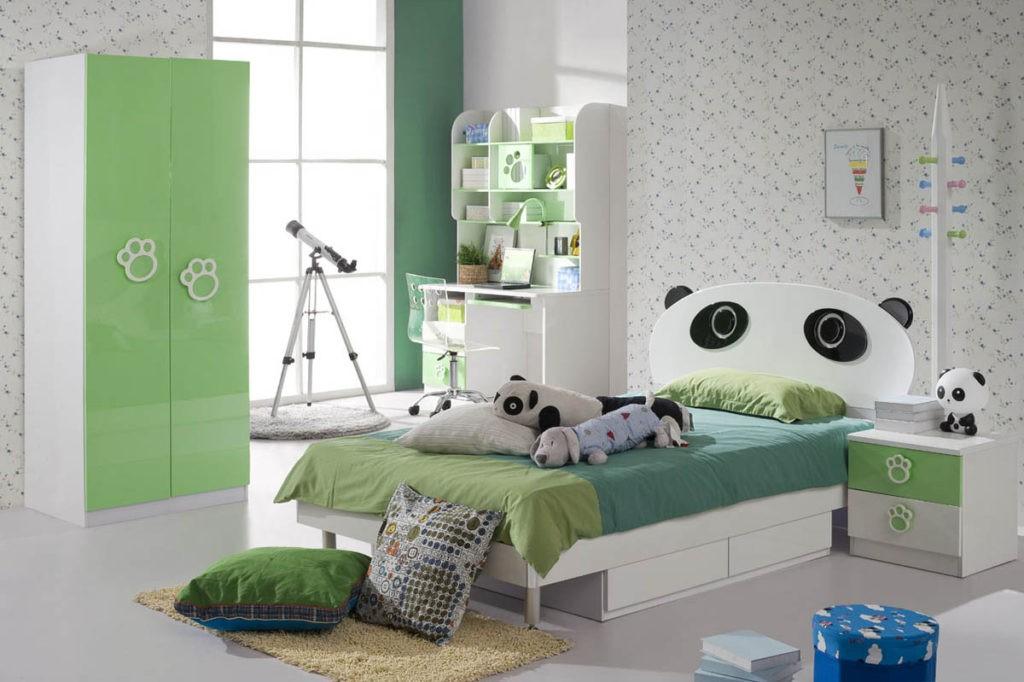 Интерьер детской спальни для мальчика дошкольного возраста