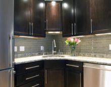 Интерьеры кухонь венге