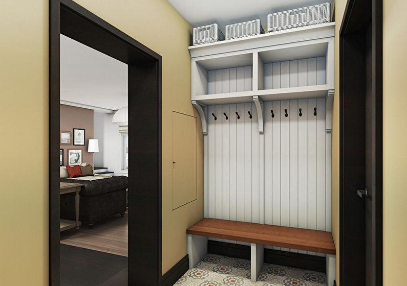 Дизайн коридора размерами 2 на 2 метра