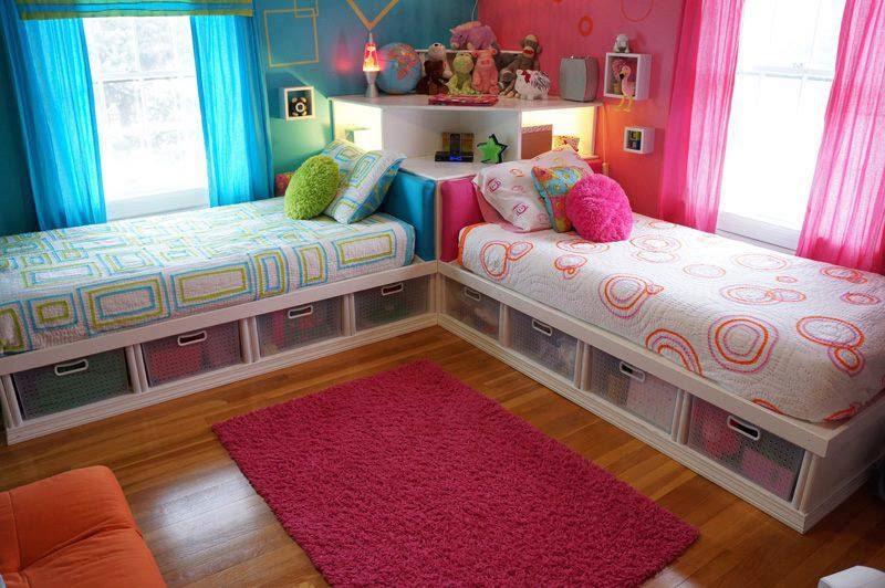 Детские кровати с вместительными выдвижными ящиками