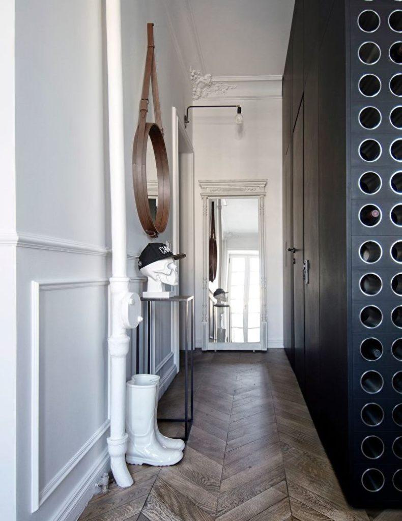 Интерьер коридора в скандинавском стиле