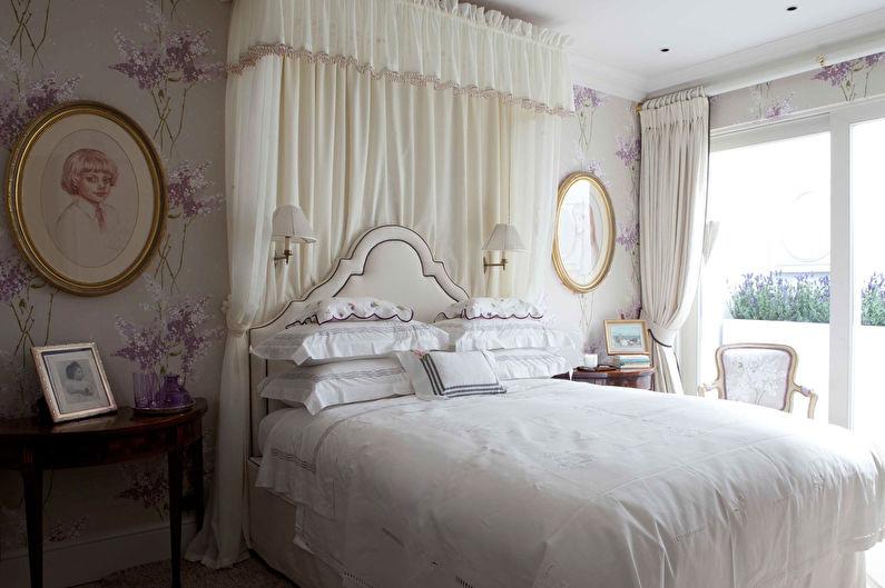 Белая кровать для девочки подростка