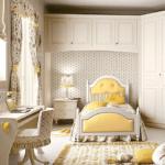 Классическая мебель в детской спальне