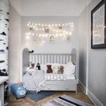 Скандинавские мотивы в интерьере детской комнаты