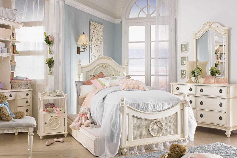 Красивая детская комната в стиле прованс
