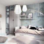 Комната для подростка в серых тонах