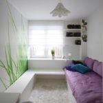 Детская комната в стиле минимализма