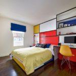Яркие фасады детской мебели