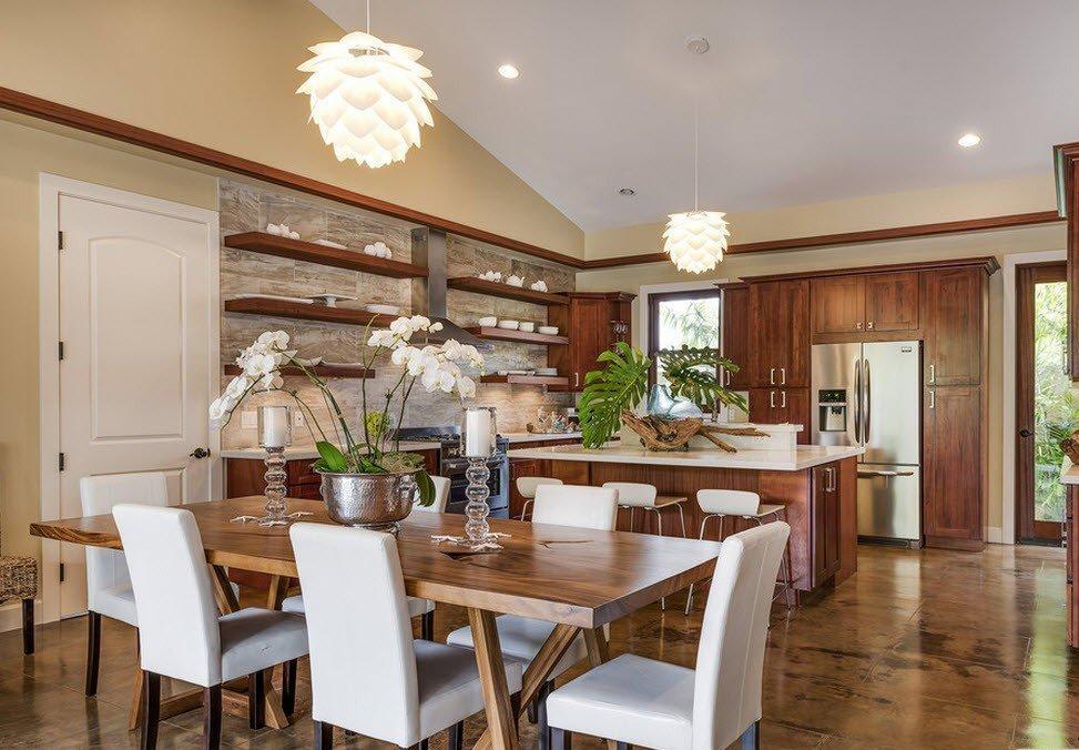 полноразмерный картинки кухни столовые другую сторону океана