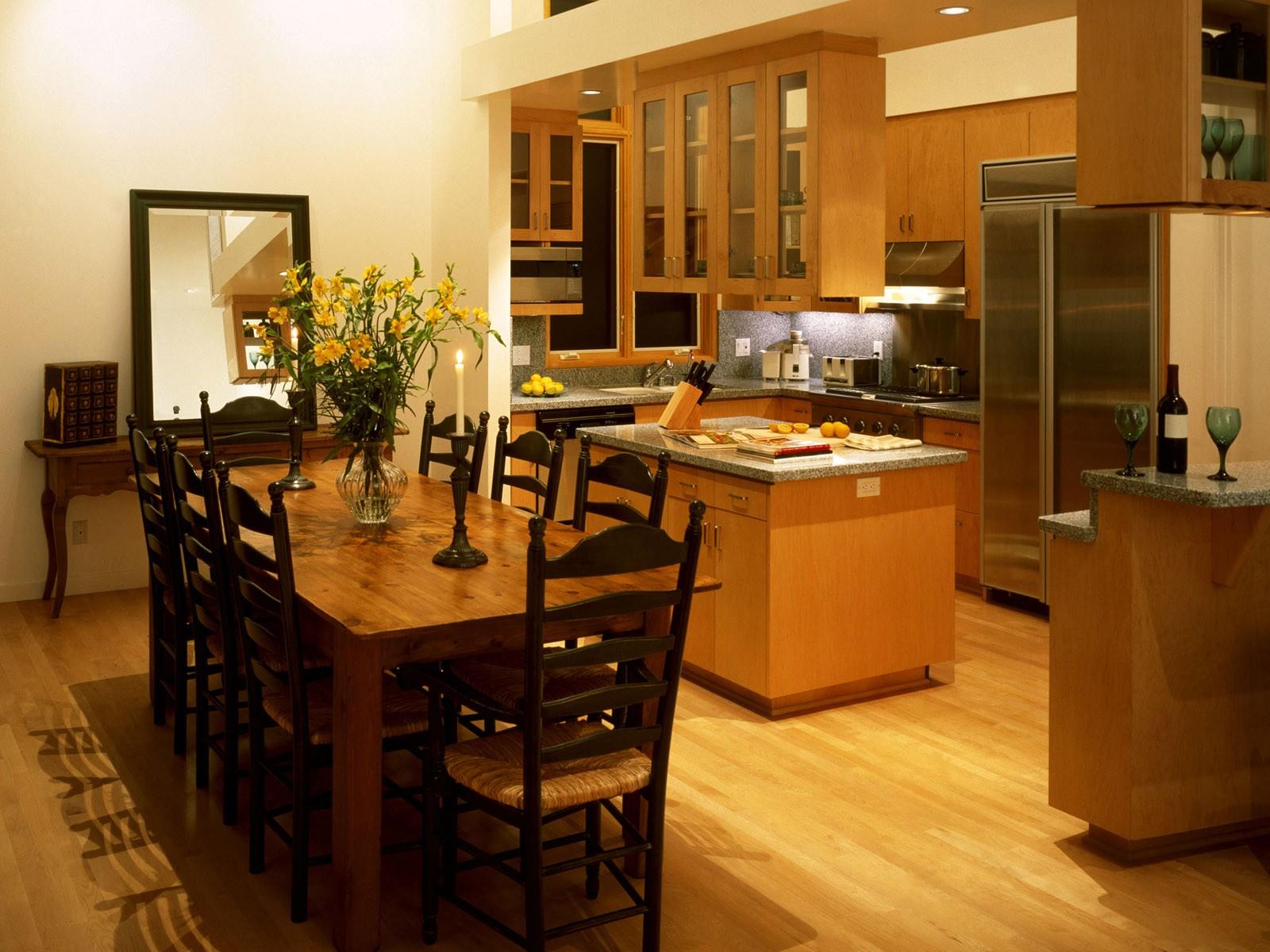 Кухня столовая интерьер в картинках