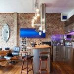 Кухонная мебель для лофт стиля