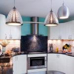 Большие плафоны кухонных светильников