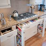 Выдвижные ящики кухонного гарнитура