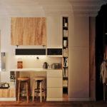 Уютное освещение в небольшой квартире студии