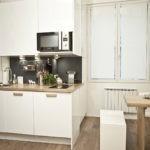 Организация кухонного пространства в однушке