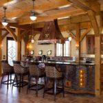 кухня столовая в готическом стиле