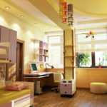 Конструктивизм в интерьере детской комнаты