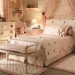 Кровать для девочки в стиле прованса