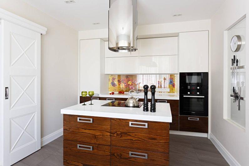 Кухонный остров в современном стиле