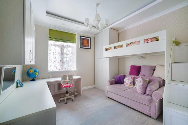 Светлая комната для девочки подростка