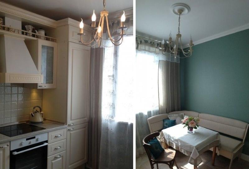 Обустройство маленькой кухни площадью 10 кв метров
