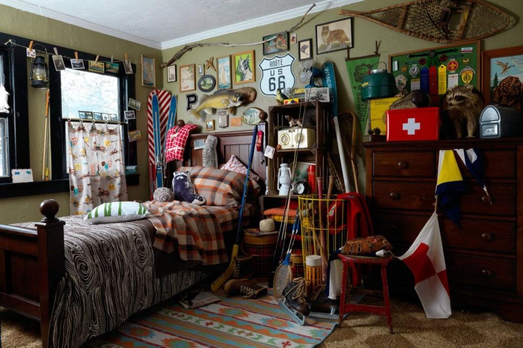 Обили декоративных элементов в интерьере детской комнаты